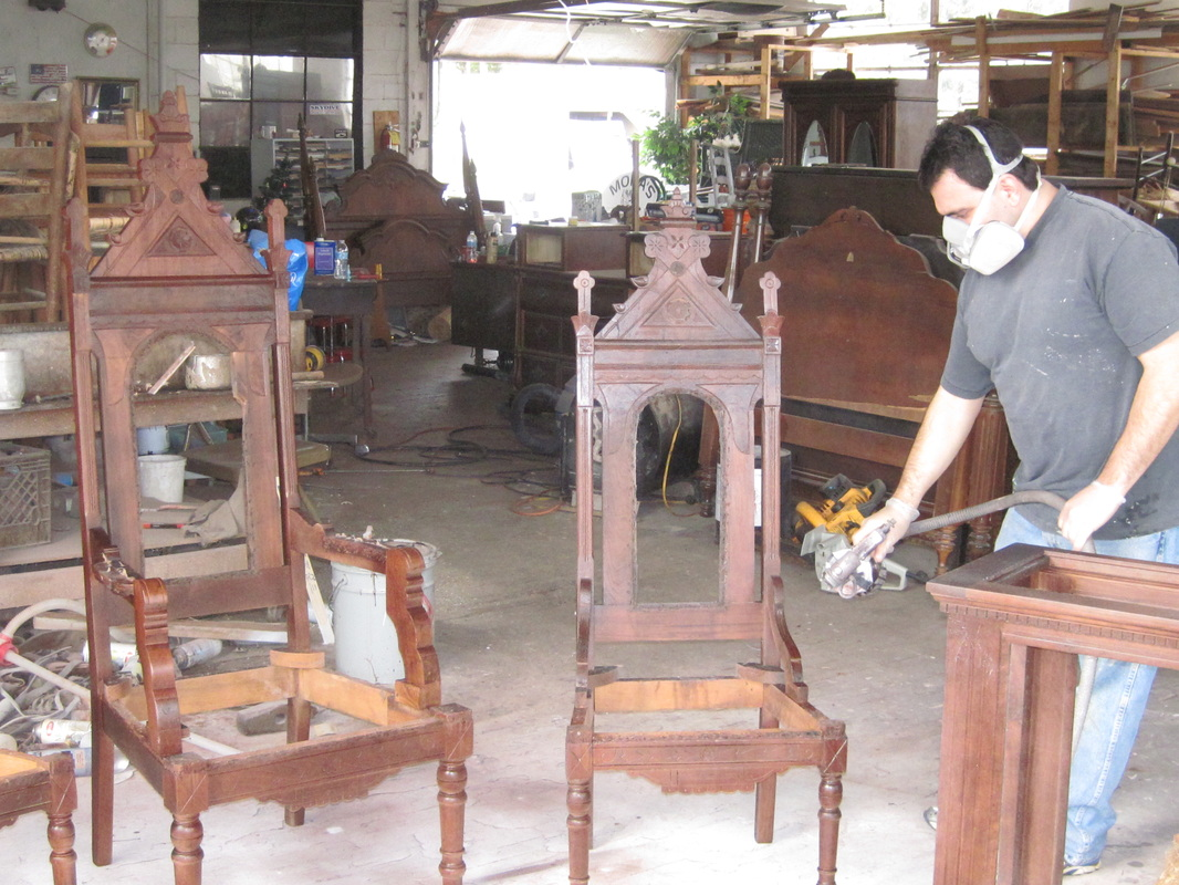 Picture - FURNITURE REFINISHING AND RESTORATION - Mora's Antiques Cleveland TN
